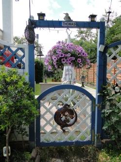 Das Tor zum Nachbarn.